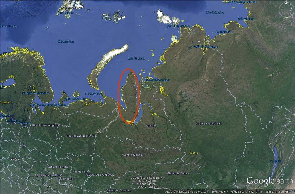 The Yamal peninsula